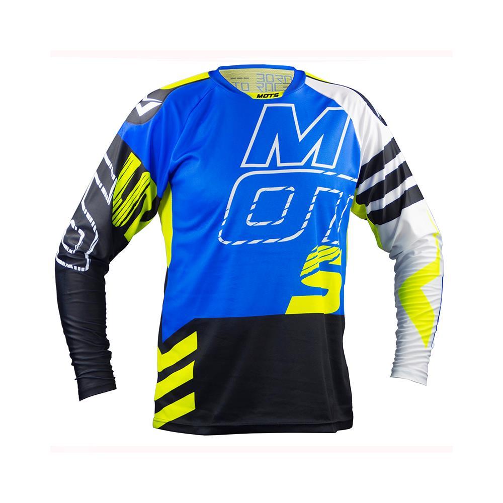 Mots Step 5 Riding Shirt-Blue